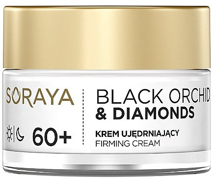 Straffende Gesichtscreme 60+ - Soraya Black Orchid & Diamonds 60+ Firming Cream