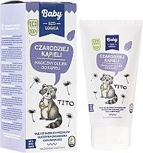 Düfte, Parfümerie und Kosmetik Magisches Badeöl für Babys mit Avocadoöl, Bio-Glycerin und Süßmandelöl - Baby EcoLogica Bath Oil