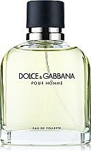 Düfte, Parfümerie und Kosmetik Dolce & Gabbana Pour Homme - Eau de Toilette (Tester mit Deckel)