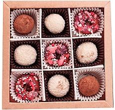 Düfte, Parfümerie und Kosmetik Fester Badeschaum-Set mit Schokoladenduft Chocolate Magic Candies - Dushka