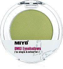 Düfte, Parfümerie und Kosmetik Mono-Lidschatten - Miyo Omg Eyeshadows