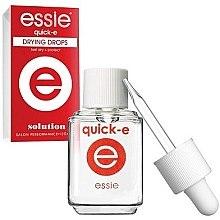 Düfte, Parfümerie und Kosmetik Nagellack-Schnelltrockner-Tropfen - Essie Quick-E Dryng Drops