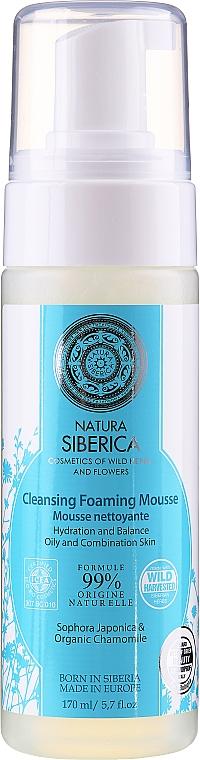 Gesichtsreinigungsschaum für fettige und Mischhaut - Natura Siberica