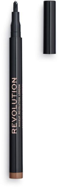 Augenbrauenstift - Makeup Revolution Micro Brow Pen