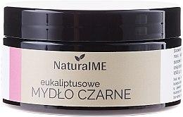 Düfte, Parfümerie und Kosmetik Schwarze Naturseife mit Eukalyptus - NaturalME