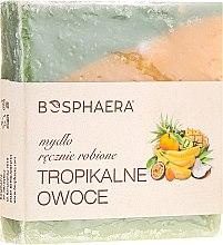 Düfte, Parfümerie und Kosmetik Handgemachte Naturseife mit tropischen Früchten-Duft - Bosphaera