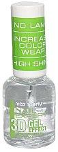 Düfte, Parfümerie und Kosmetik Langanhaltender Nagelüberlack mit 3D Gel-Glanz-Effekt - Miss Sporty Nail Expert 3D Gel Effect Top Coat