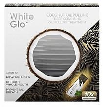 Düfte, Parfümerie und Kosmetik Kokosnussöl zur Reinigung und Entgiftung von Zähnen und Zahnfleisch - White Glo Coconut Oil Pulling