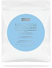 Düfte, Parfümerie und Kosmetik Tuchmaske zur Entgiftung - Pupa Maschera Detossificante Viso