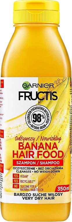 Pflegendes Shampoo mit Bananenextrakt für trockenes Haar - Garnier Fructis Superfood