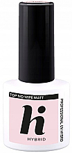 Düfte, Parfümerie und Kosmetik Nagelüberlack matt - Hi Hybrid Top No Wipe Matt