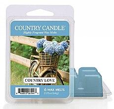 Düfte, Parfümerie und Kosmetik Duftwachs für Aromalampe Country Love - Country Candle Country Love Wax Melts