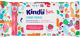 Düfte, Parfümerie und Kosmetik Antibakterielle Feuchttücher - Cleanic Kids Care