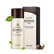 Düfte, Parfümerie und Kosmetik Erfrischendes Gesichtstonikum für normale und Mischhaut - Secret Key Snail + EGF Repairing Toner