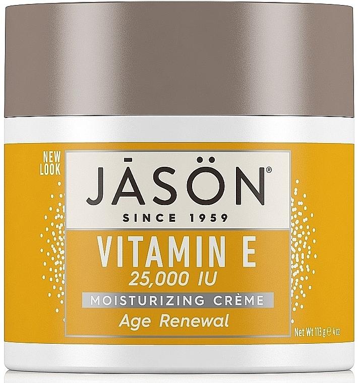 Regenerierende Gesichts- und Körpercreme mit Vitamin E - Jason Natural Cosmetics Age Renewal Vitamin E