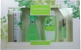 Düfte, Parfümerie und Kosmetik Coty Chanson d'Eau - Duftset (Eau de Toilette 100ml + Duschgel 200ml + Deospray 200ml + Eau de Toilette 15ml)