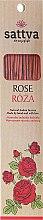 Düfte, Parfümerie und Kosmetik Räucherstäbchen Rose - Sattva Rose Incense Sticks
