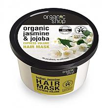 Düfte, Parfümerie und Kosmetik Haarmaske mit Jasmin und Jojoba - Organic Shop Organic Jasmine and Jojoba Hair Mask