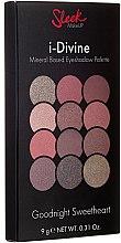Düfte, Parfümerie und Kosmetik Lidschattenpalette - Sleek MakeUP i-Divine Mineral Based Eyeshadow Palette Goodnight Sweetheart
