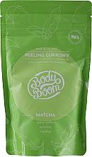 Düfte, Parfümerie und Kosmetik Cukrowy peeling antycellulitowy Matcha - BodyBoom Body Scrub