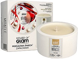 Düfte, Parfümerie und Kosmetik Soja-Duftkerze Miracle You Are - House of Glam Miracle You Are Candle