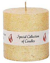 Düfte, Parfümerie und Kosmetik Naturkerze Golden Glow 7,5 cm - Ringa Golden Glow Candle