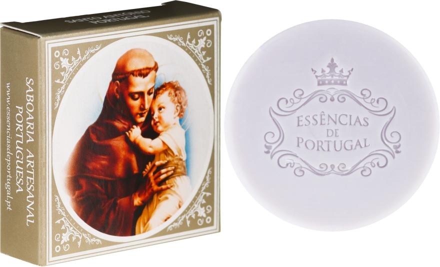 Naturseife Lavender - Essencias De Portugal Santo António Lavender Soap Religious Collection
