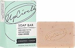 Düfte, Parfümerie und Kosmetik Kosmetische Seife mit Zimt und Ingwer - UpCircle Cinnamon + Ginger Chai Soap Bar
