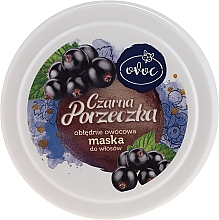 Düfte, Parfümerie und Kosmetik Haarmaske mit Extrakt aus schwarzen Johannisbeeren, Seidenprotein und Sheabutter - Ovoc Czarna Porzeczka Mask