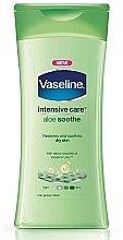 Düfte, Parfümerie und Kosmetik Beruhigende Körperlotion - Vaseline Intensive Care Aloe Soothe Lotion