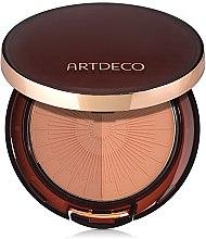 Düfte, Parfümerie und Kosmetik Langanhaltender kompakter Bronzepuder - Artdeco Bronzing Powder Compact Long-Lasting