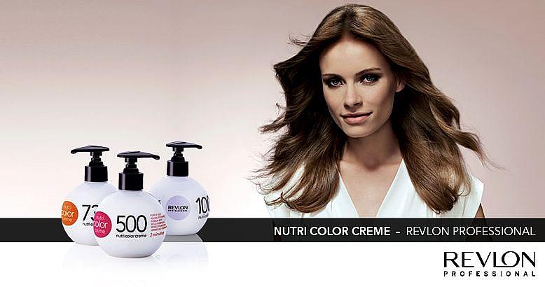 Revlon Professional Color Creme Nr.1003 hellgold - Revlon Professional Nutri Color Creme — Bild N4