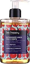 Düfte, Parfümerie und Kosmetik Duschgel für Gesicht und Körper mit Arbutus und Holunder - Bio Happy Arbutus & Elderberry Face & Body Wash