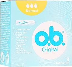 Düfte, Parfümerie und Kosmetik Tampons Normal 8 St. - o.b. Original Normal Tampons