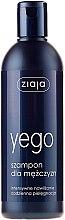 Tiefenreinigendes erfrischendes und feuchtigkeitsspendendes Shampoo für Männer mit Aloe Vera- und Hamamelisextrakt - Ziaja Shampoo for Men — Bild N1