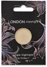 Düfte, Parfümerie und Kosmetik Highlighter - London Copyright Magnetic Face Powder Highlight