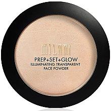 Düfte, Parfümerie und Kosmetik Illuminierendes transparentes Gesichtspuder - Milani Prep + Set + Glow Illuminating Transparent Powder