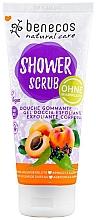 Düfte, Parfümerie und Kosmetik Duschpeeling mit Aprikose und Holunderblüte - Benecos Natural Care Apricot & Elderberry Shower Scrub