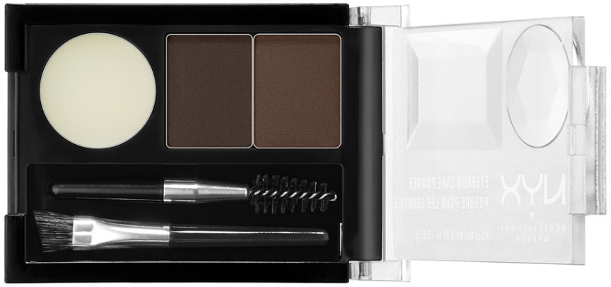Augenbrauen Lidschatten - NYX Professional Makeup Eyebrow Cake Powder