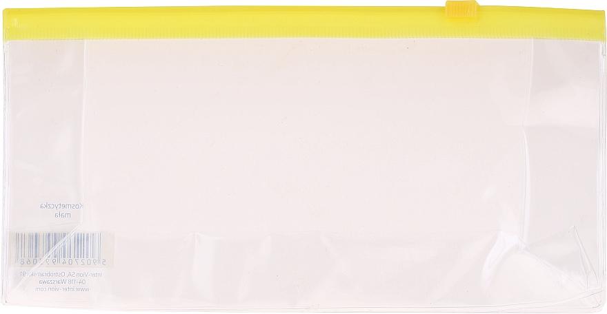 Reisekosmetiktasche 499306, transparent gelb - Inter-Vion — Bild N1