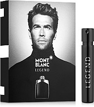 Düfte, Parfümerie und Kosmetik Montblanc Legend - Eau de Toilette (Probe)