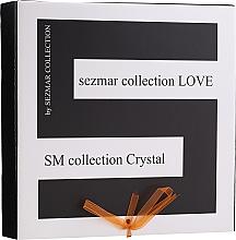 Düfte, Parfümerie und Kosmetik Körperflegeset - Sezmar Collection Love Crystal (Duschgel 250ml + Massageöl 100ml + Körperlotion 200ml)