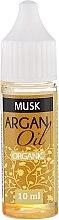 Düfte, Parfümerie und Kosmetik Beruhigendes duftendes und aufweichendes Arganöl mit Moschus - Drop of Essence Argan Oil Musk
