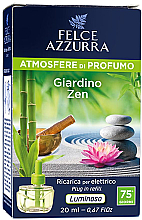 Düfte, Parfümerie und Kosmetik Elektrische Diffusor Garden Zen - Felce Azzurra Garden Zen (Refill)