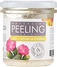 Düfte, Parfümerie und Kosmetik Salzpeeling für den Körper mit Sheabutter und Feigenkaktus - E-Fiore Prickly Pear Body Peeling