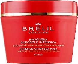 Düfte, Parfümerie und Kosmetik Intensiv pflegende Haarmaske nach dem Sonnen - Brelil Solaire Intensive After-Sun Musk