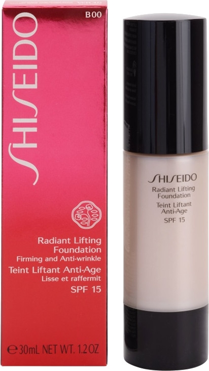 Anti-Aging Foundation für strahlende Haut LSF 15 - Shiseido Radiant Lifting Foundation SPF 15