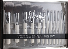 Düfte, Parfümerie und Kosmetik Make-up Pinselset 12-tlg. - Nanshy Masterful Collection Pearlescent White