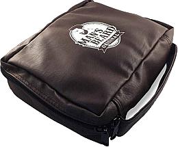 Düfte, Parfümerie und Kosmetik Kulturbeutel für Männer Kunstleder MB212 - Man's Beard Men's Toiletry Bag Synthetic Leather Brown