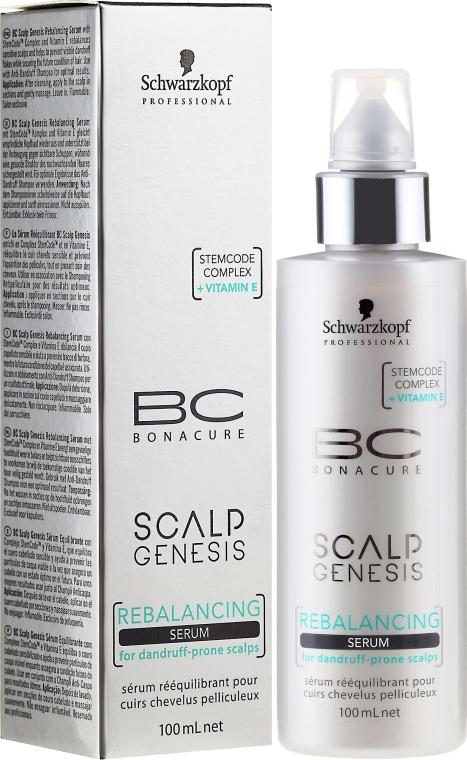 Kopfhautserum gegen Schuppen - Schwarzkopf Professional BC Scalp Genesis Rebalancing Serum